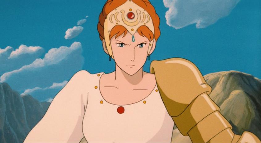 Princesse Kushana -Nausicäa de la Vallée du Vent – Studio Ghibli (1984)