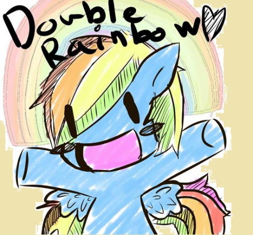 rainbow_dash_doodle_by_unicorn_pony_wolf-d58up1g