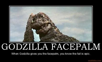 Godzillafacepalm
