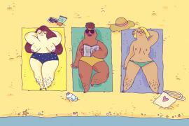 Marie Boiseau : la plage