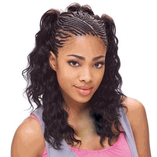 coiffure afro américaine femme